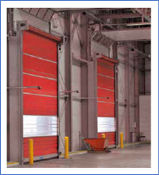 HighSpeed Door Reinforced Curtain
