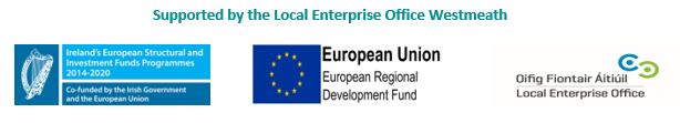 Supported by the Local Enterprise Office, Westmeath